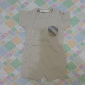 Burberry newborn bodysuit